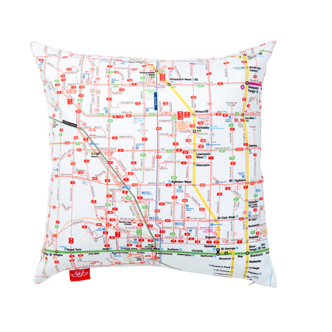 System Map Pillow