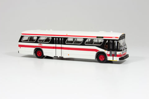 Modern Paint Scheme Model Bus - Standard Version