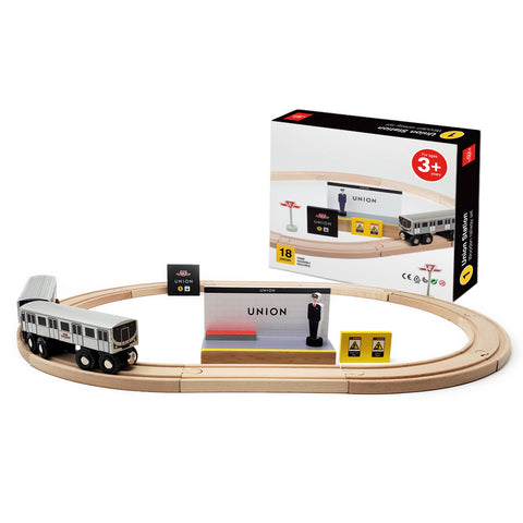 TTC Wooden Subway Set