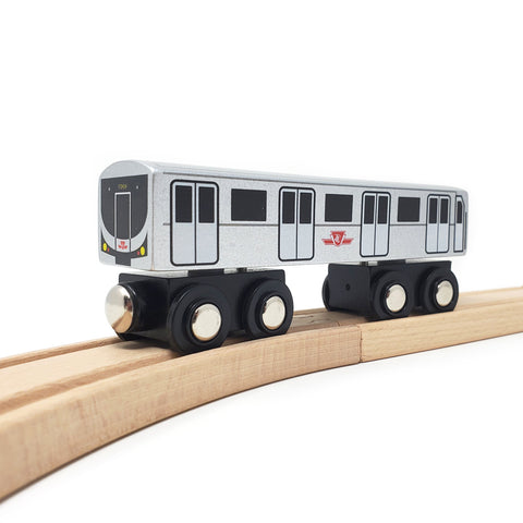 TTC Wooden Subway Car