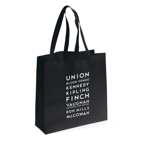 Stations Shopping Tote