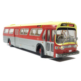 Maroon Paint Scheme Model Bus - Deluxe Version