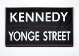 Kennedy/Yonge Framed Subway Blind