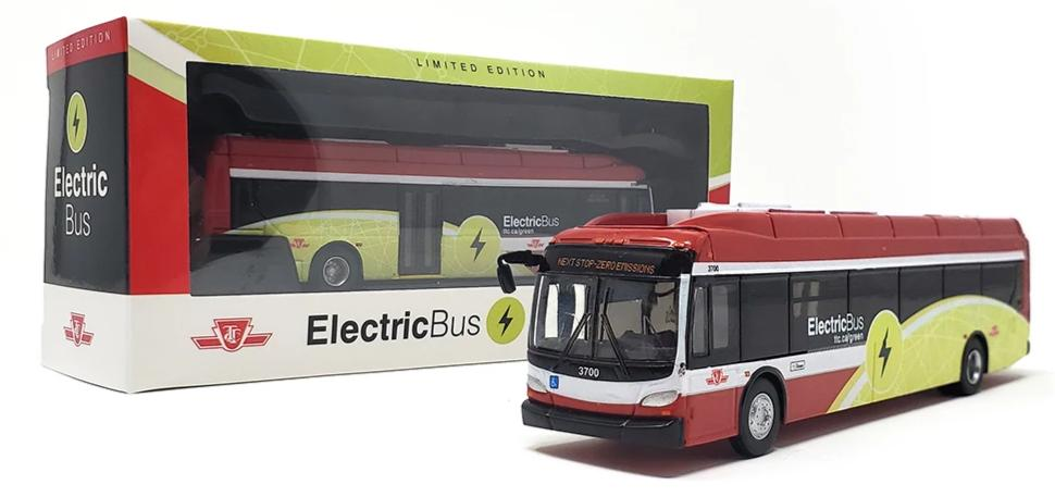 TTC New Flyer Xcelsior XE40 Electric Transit Bus By Iconic Replica