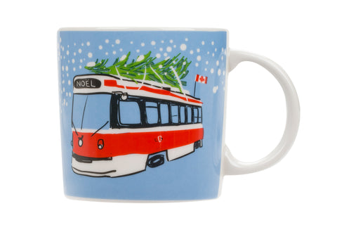 Holiday Streetcar Mug