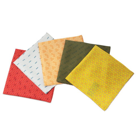 Station Tile Pocket Squares