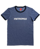 Retro Metropass T-Shirt, Men's-Heather Blue