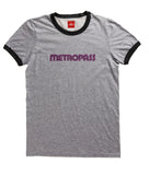 Retro Metropass T-Shirt, Men's-Heather Grey