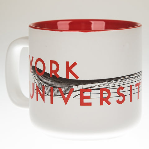 York University Station Mug, Red