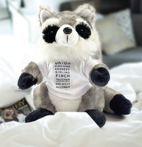 Stations Raccoon, Plush Toy