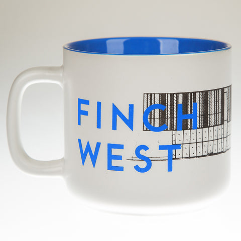 Finch West Station Mug, Light Blue