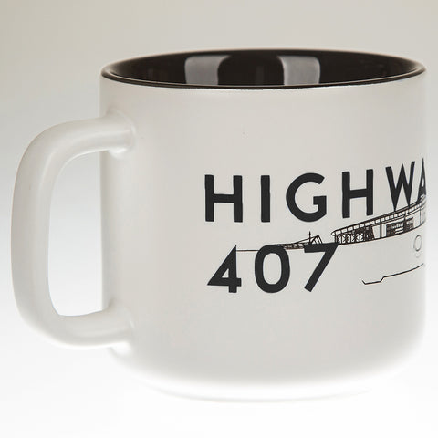 Highway 407 Station Mug, Black
