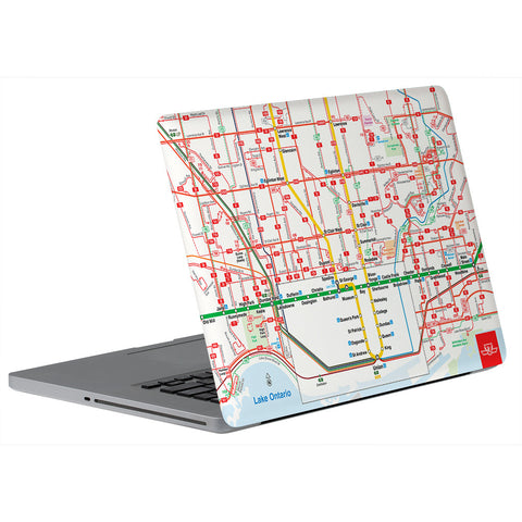 System Map Skin for Laptop
