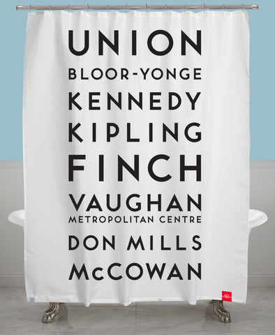 Stations Shower Curtain - Updated