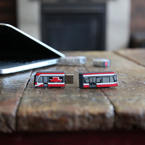 Replica Streetcar USB Flash Drive