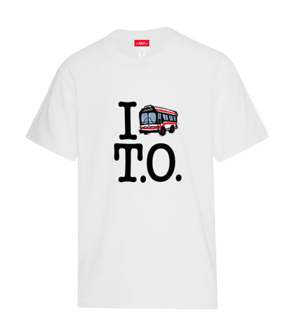 I Love T.O. Kids T-Shirt, White