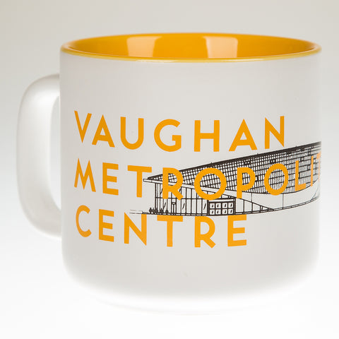 Vaughan Metropolitan Centre Station Mug, Yellow