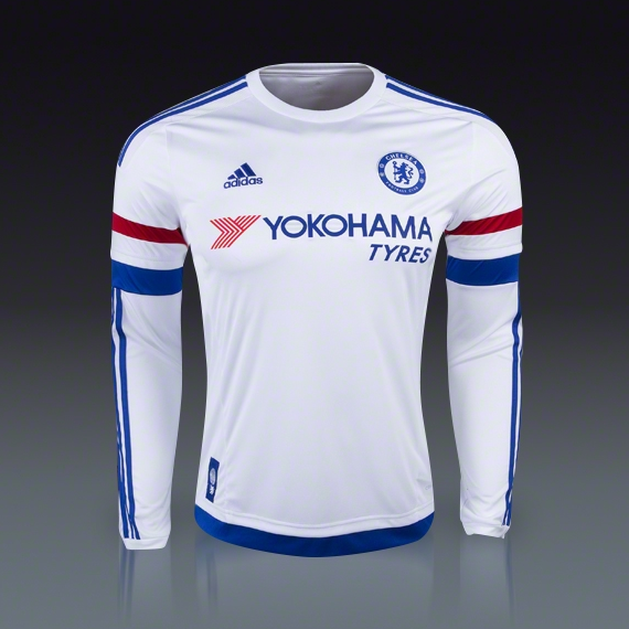 c307befe8 Adidas Chelsea LS Away Jersey 15/16 – Perfect Fit Soccer