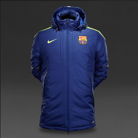 Nike FC Barcelona Squad Medium Fill Winter Jacket