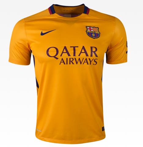 Copy of Nike Barcelona Away Jersey 15/16