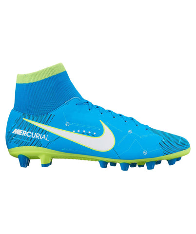 Nike Junior Mercurial Victory VI DF NJR FG Outdoor Soccer Cleats - Blue