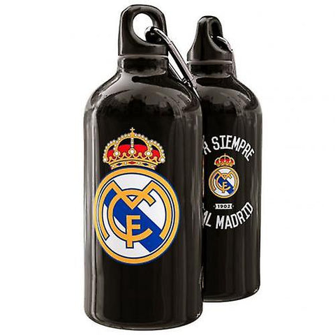 real madrid metal bottle