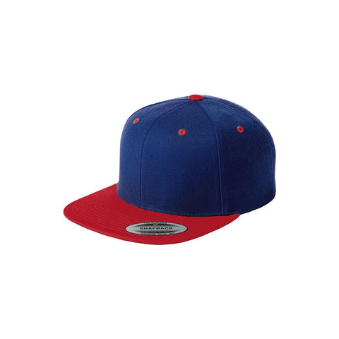 RED AND BLUE SNAPBACK