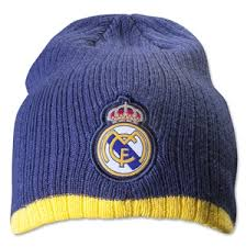 Real Madrid Beanie Ylw stripe