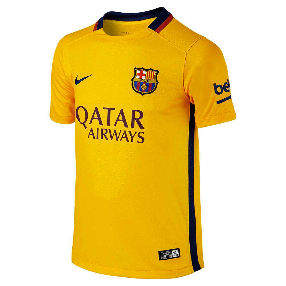 Ys Barcelona Qatar Airways Jersey Perfect Fit Soccer