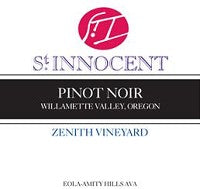 2014 ST. INNOCENT PINOT NOIR ZENITH VINEYARD 375ML