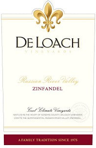 2014 DELOACH VINEYARDS ZINFANDEL RUSSIAN RIVER VALLEY 750ML