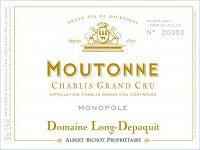 2013 ALBERT BICHOT CHABLIS MOUTONNE DOMAINE LONG-DEPAQU 750ML