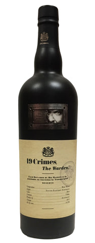 2015 19 CRIMES THE WARDEN 750ML