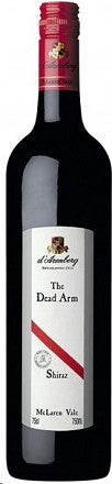2013 D'ARENBERG SHIRAZ THE DEAD ARM 750ML