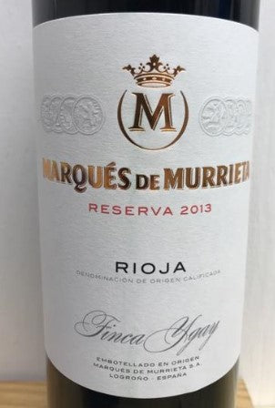 2013 MARQUES DE MURRIETA RIOJA RESERVA YGAY 750ML