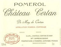 2012 CHATEAU CERTAN DE MAY DE CERTAN POMEROL 750ML
