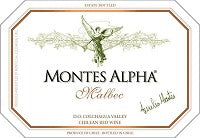 2011 MONTES MALBEC ALPHA 750ML