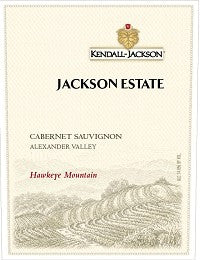2012 JACKSON ESTATE CABERNET SAUVIGNON HAWKEYE MOUNTAIN 750ML