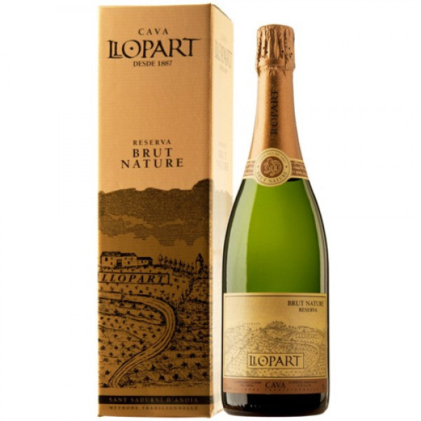 2015 LLOPART CAVA BRUT NATURE RESERVA 750ML