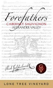 2012 FOREFATHERS CABERNET SAUVIGNON LONE TREE VINEYARD 750ML
