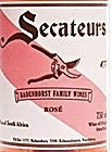 2015 SECATEURS BADENHORST ROSE 750ML