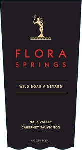 2013 FLORA SPRINGS CABERNET SAUVIGNON WILD BOAR VINEYAR 750ML