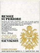 2017 RUSSIZ SUPERIORE COLLIO SAUVIGNON BLANC 750ML