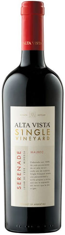 2011 ALTA VISTA MALBEC SINGLE VINEYARD 'SERENADE' 750ML
