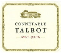 2011 CONNETABLE DE TALBOT SAINT JULIEN 750ML