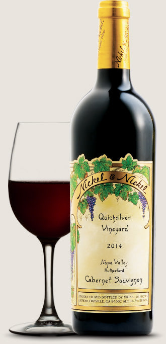 2014 NICKEL & NICKEL QUICKSILVER VINEYARD CABERNET SAUVIGNON 750ML