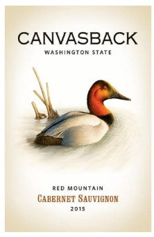 2015 CANVASBACK RED MOUNTAIN CABERNET SAUVIGNON 750ML