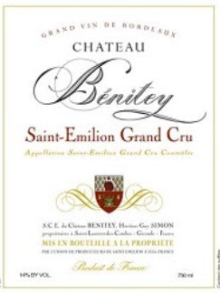2015 CHATEAU BENITEY GRAND CRU 750ML