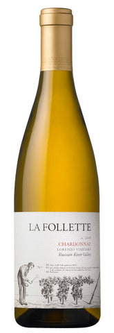 2013 LA FOLLETTE CHARDONNAY NORTH COAST 750ML