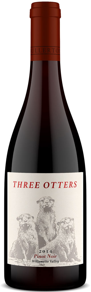 2015 THREE OTTERS PINOT NOIR WILLAMETTE VALLEY 750ML